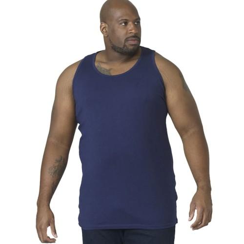 Koszulka bokserka Duke D555 Fabio granatowa
