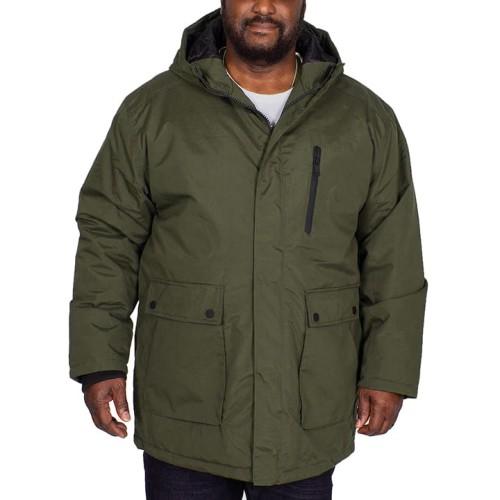 Duża kurtka jesienno/zimowa BigDude Utility Khaki
