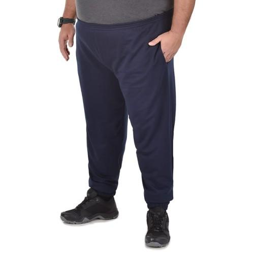 Duże męskie spodnie dresowe Dark Side granatowe