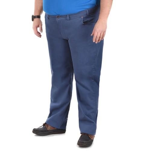 Duże męskie spodnie Divest 572 niebieskie